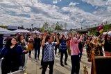 Poco-poco dan Gemu famire meriahkan Embassy Festival