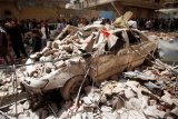 Koalisi Saudi serang dua sasaran di Yaman