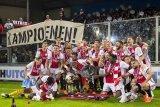 Unggul tiga poin atas PSV Eindhoven, Ajax juara Liga Belanda