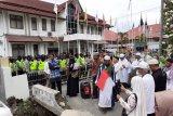 Puluhan warga tuntut KPU ungkap kematian ratusan KPPS
