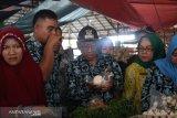 Wakil Bupati Banyuasin sidak pasar temukan makanan gunakan pewarna berbahaya