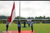 Ketua PA Sijunjung memimpin upacara Harkitnas