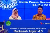 Kerjasama XL Axiata-Kemenag luncurkan Program Madrasah Aliyah 4.0