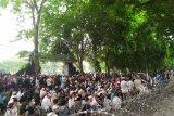 GNKR Sumut lanjutkan aksi tolak hasil rekapitulasi perhitungan suara pemilu di gedung DPRD Provinsi