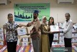 PT Rifan Financindo Berjangka santuni anak yatim Pekanbaru