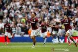 Aston Villa kembali ke Liga Premier setelah mengalahkan Derby County