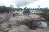 Tambang liar di Sungai Buluh dihentikan