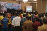 Peserta heran lirik lagu Indonesia tiga stanza pada penutupan LKS SMK Sumbar
