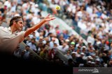Petenis unggulan teratas Federer melaju, Zverev tersingkir di Halle