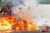 Konvoi pengangkut peralatan  militer AS menjadi  target ledakan di  Irak