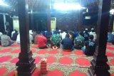 Pendopo Puri Cikeas kediaman SBY jadi tempat salat Subuh berjamaah