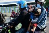 Mudik saat Natal dan tahun baru, pengguna sepeda motor diminta berhati-hati