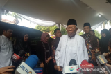 Maruf Amin melayat ke Cikeas