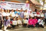 ACT Jateng gandeng klinik perawatan kulit bagikan paket pangan Ramadhan