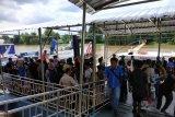 Aktifitas Pelabuhan Sei Duku Pekanbaru meningkat pada libur Nataru