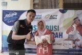ACT salurkan zakat fitrah ke mustahiq di Palembang