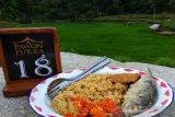Pelaku wisata Gunung Kidul menyiapkan menu