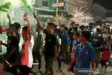 Warga Kota Semarang takbiran keliling