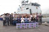 Danguspurla Armada II rayakan Idul Fitri dengan personel KRI Pandrong 801