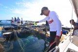 Gubernur Sulawesi Selatan bahas rehabilitasi Pulau Samalona