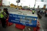 Jalur satu arah diberlakukan mulai gerbang Tol Kalikangkung Semarang