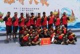 Tim dayung perahu naga Indonesia juara umum di China