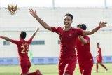 Gelandang Arema Muhammad Rafi nyaman menjadi penyerang timnas U-23