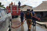 Puluhan desa terpapar debu vulkanik erupsi Gunung Sinabung