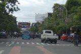Arus lalulintas di Makassar masih lengang pascalebaran