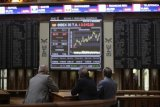 Saham Spanyol bangki,  Indeks IBEX 35 melonjak 4,04 persen