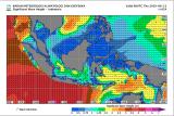 Sejumlah perairan di Indonesia berpotensi gelombang tinggi