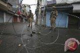 10 orang luka di Kashmir di tengah penindasan India