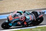 Quartararo ungguli Dovizioso untuk puncaki FP2 di GP Catalunya