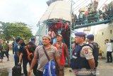 Arus balik masih ramai, 4.073 penumpang tiba di Pelabuhan Sampit