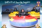 Snow City tawarkan sensasi bermain bumper di suhu  minus 5 derajat celcius