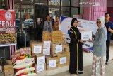 PD IAI Sultra salurkan bantuan ke dua daerah korban bencana