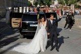 Sergio Ramos menikah dalam pernikahan Galactico