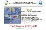 Gempa  bumi di Lembata tidak berpotensi tsunami