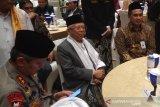 MK sidangkan sengketa Pilpres, Ma'ruf Amin hadiri halalbihalal PWNU Jateng