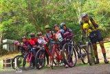 Atlet sepeda Babel training centre di Lubuk Linggau