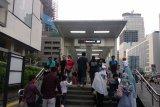 MRT transportasi favorit warga datang ke perayaan HUT Jakarta
