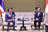 Presiden Joko Widodo dan PM Thailand bahas peningkatan kerja sama