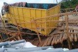 Jembatan darurat perbatasan Sumsel-Lampung jebol