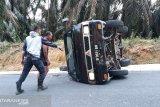 Kasus kecelakaan rombongan murid TK diselesaikan secara keluarga