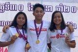 Indonesia menambah empat emas renang junior Asia Tenggara