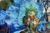 Kepulauan Seribu tampilkan kostum