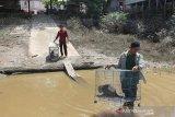 Satu keluarga monyet ekor panjang kembali dilepasliarkan di Pararawen