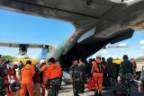 Tim SAR belum menemukan helikopter MI 17 yang hilang kontak