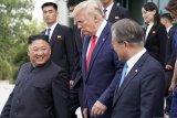 Presiden Korsel puji ucapan ulang tahun Trump ke Kim Jong Un