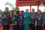 Istri gubernur pimpin rombongan Lampung ke Harganas di Kalsel